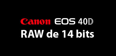 Canon  40D 14 bits