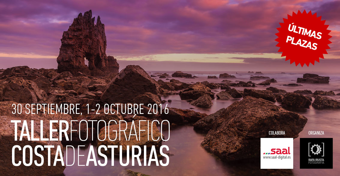 Taller Fotográfico Costa de Asturias últimas plazas