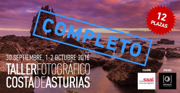 Taller Fotografía Costa de Asturias completo